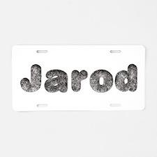 Jarod Wolf Aluminum License Plate