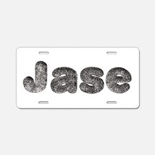 Jase Wolf Aluminum License Plate