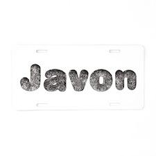 Javon Wolf Aluminum License Plate