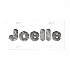 Joelle Wolf Aluminum License Plate