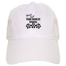 Worlds Best King Charles Spaniel Dad Baseball Baseball Cap