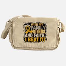 Childhood Cancer Survivor FamilyFrie Messenger Bag