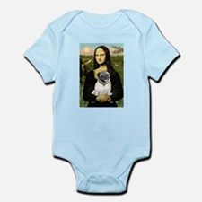 Mona's Fawn Pug Infant Bodysuit