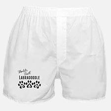 Worlds Best Labradoodle Dad Boxer Shorts
