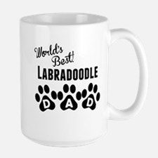 Worlds Best Labradoodle Dad Mugs
