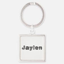 Jaylen Wolf Square Keychain