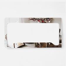 Merry Christmas Tara License Plate Holder