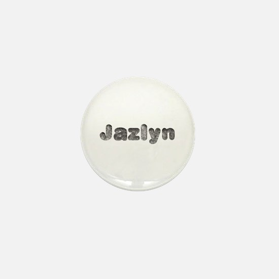 Jazlyn Wolf Mini Button