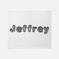 Jeffrey Wolf Throw Blanket