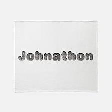 Johnathon Wolf Throw Blanket