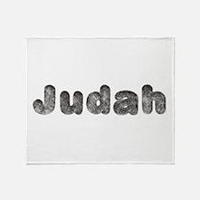Judah Wolf Throw Blanket