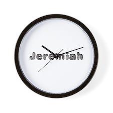 Jeremiah Wolf Wall Clock