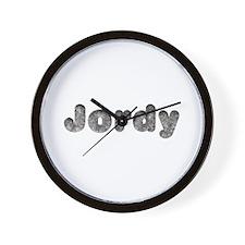 Jordy Wolf Wall Clock