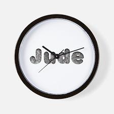 Jude Wolf Wall Clock