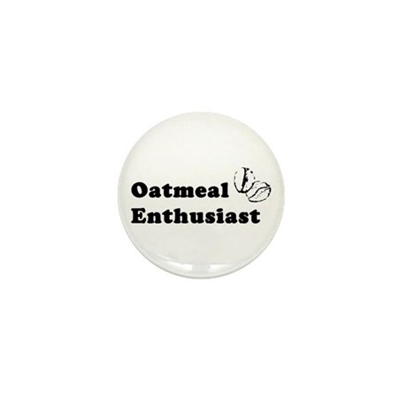 Oatmeal Enthusiast Mini Button