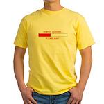 TEMPER LOADING... Yellow T-Shirt