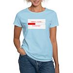 TEMPER LOADING... Women's Light T-Shirt