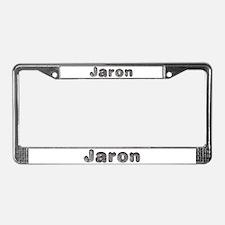 Jaron Wolf License Plate Frame