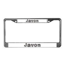Javon Wolf License Plate Frame
