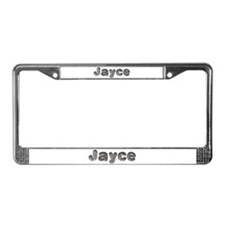 Jayce Wolf License Plate Frame