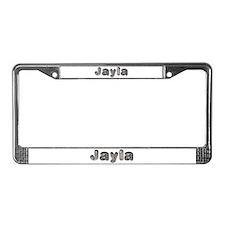Jayla Wolf License Plate Frame