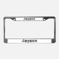 Jayson Wolf License Plate Frame