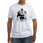 Tunstall Family Crest Fitted T-Shirt