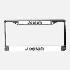 Josiah Wolf License Plate Frame