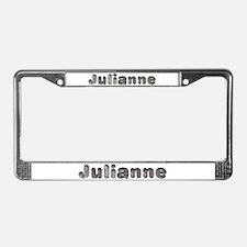 Julianne Wolf License Plate Frame