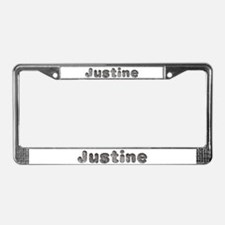 Justine Wolf License Plate Frame