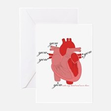 You Enter My Heart Greeting Cards (Pk of 10)
