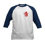 You Enter My Heart Kids Baseball Jersey