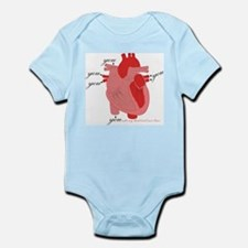 You Enter My Heart Infant Bodysuit