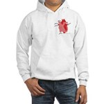 You Enter My Heart Hooded Sweatshirt