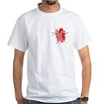 You Enter My Heart White T-Shirt