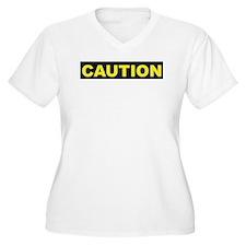 Caution K spoken here Plus Size T-Shirt