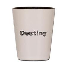 Destiny Wolf Shot Glass