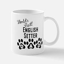 Worlds Best English Setter Dad Mugs