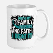 Cervical Cancer Survivor FamilyFriendsF Mug