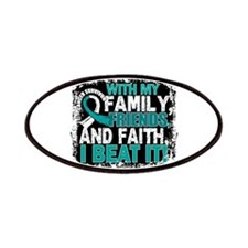 Cervical Cancer Survivor FamilyFriendsFaith Patch