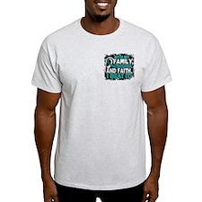 Cervical Cancer Survivor FamilyFrien T-Shirt