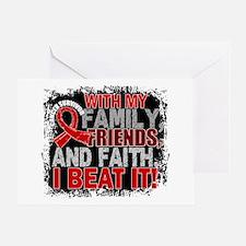 Blood Cancer Survivor FamilyFriendsF Greeting Card