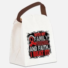 Blood Cancer Survivor FamilyFrien Canvas Lunch Bag