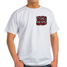 Blood Cancer Survivor FamilyFriendsF T-Shirt