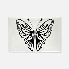 BUTTERFLY 3 Rectangle Magnet