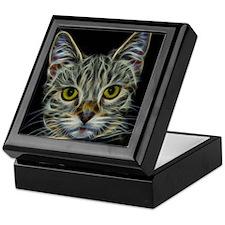 Calico KItty Art Keepsake Box