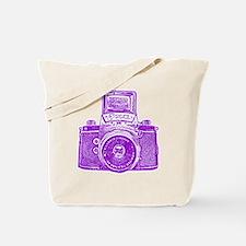 Vintage Camera - Purple Tote Bag