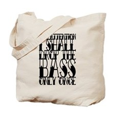 Drop the BASS Tote Bag