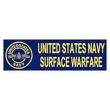 Surface Warfare Enlisted <BR>Bumper Bumper Sticker