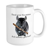 Chinchilla Large Mugs (15 oz)
